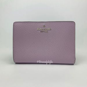 Kate Spade Grove Street Tellie Wallet in Lavender